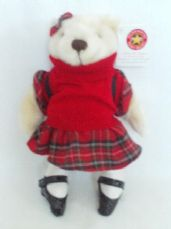 Adorable Rare 'Herrington Tartan Limited Edition Teddy' Collectable Bear BNWT